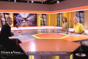Adèle Van Reeth et Frédéric Lenoir dans Livres & vous