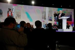 REIMS : Jean Luc Melenchon a Reims - Campagne presidentielle