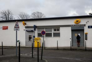 Bureau de poste fermé provisoirement