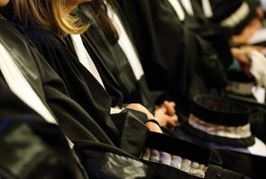 Paris illustration judge and lawyers