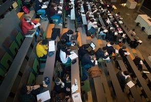 Paris. Sorbonne university , Jussieu campus .