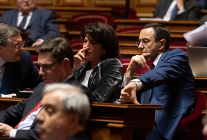 Paris: Weekly session of questions to the government at the senate