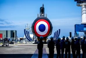 Inauguration du sous marin d'attaque Suffren