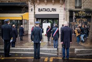 Commemoration des attentats du 13 novembre 2015.