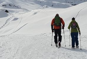 Illustration station de ski