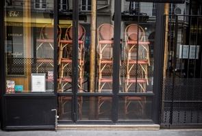 FRA :PARIS : COVID-19 : Cafes et Restaurants