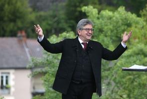Aubin: Jean-Luc Melenchon's first rally