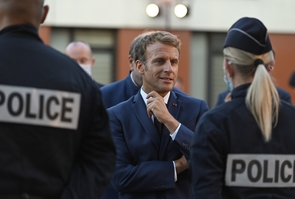 Marseille: french president visit. First Day