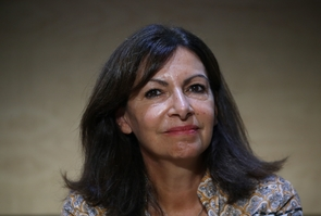 Montpellier Anne Hidalgo at the PS parliamentary days