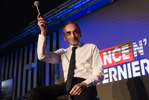Eric Zemmour meeting in Nimes, France - 15 Oct 2021